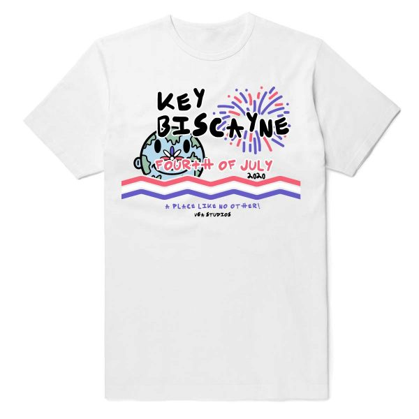 Key Biscayne 4th of July Shirt 2020